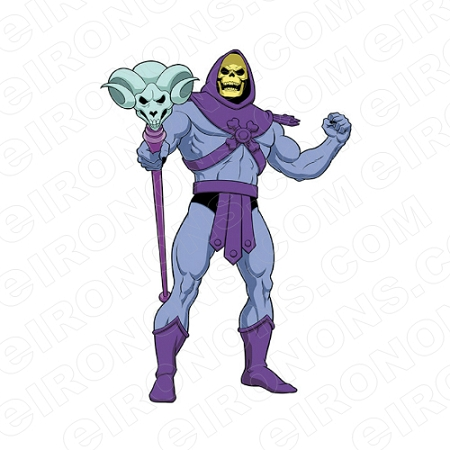 Skeletor Mad He Man Comic T Shirt Iron On Transfer Decal