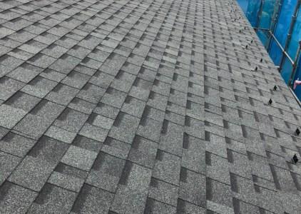 屋根 シングル葺き施工事例
