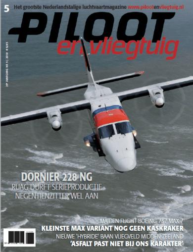 Cover Piloot en Vliegtuig Editie 5-2018