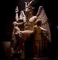 Escultura de Satanás é exibida em cerimônia secreta nos EUA