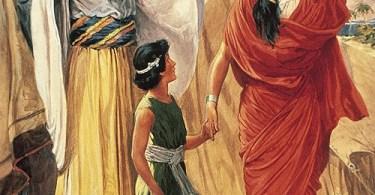 Como Isaque foi chamado de único filho?
