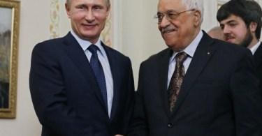 Palestina pede que Rússia impeça embaixada dos EUA em Jerusalém