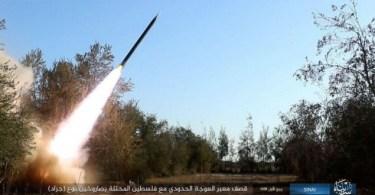 Israel enfrenta soldados do EI, que responde com novo bombardeio