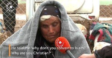 Cristã cega se recusa a negar a Cristo e foge de cativeiro do Estado Islâmico