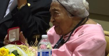 """Mulher de 105 anos revela segredo para uma vida longa: """"Estudar a Bíblia"""""""