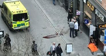 Ataque terrorista na Suécia deixa 5 mortos