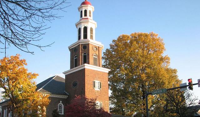 Igreja de Cristo fundada por George Washington