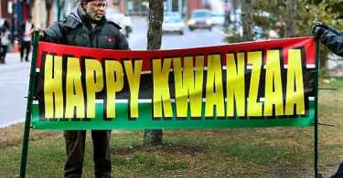 Trump deseja Feliz… Kwanzaa, por amor à ideologia politicamente correta