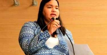 Vereadora evangélica pode ser processada após 'clamar contra as maldições de Iemanjá'