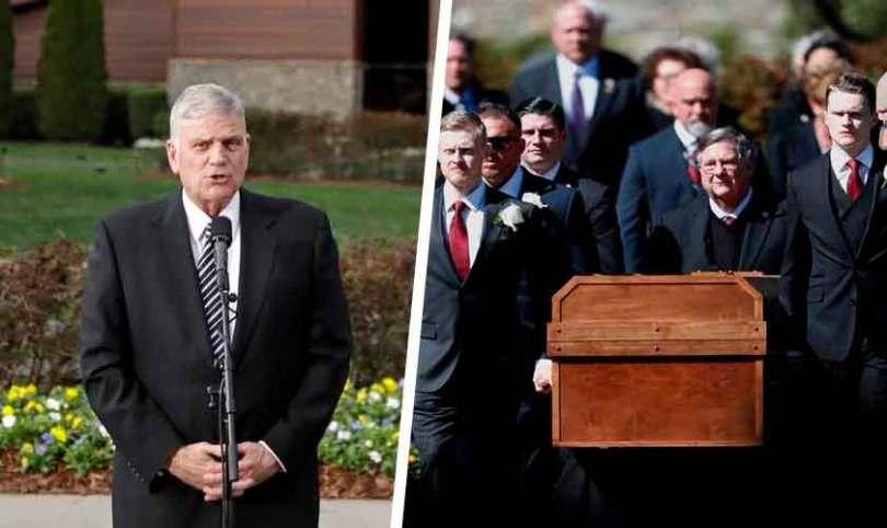 Família atende desejo de Billy Graham e prega o Evangelho em seu funeral