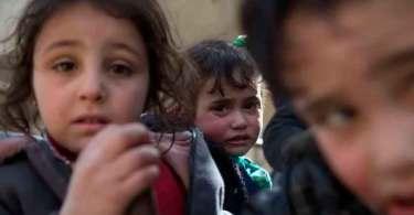 Mais de mil crianças foram mortas na Síria, só em 2018
