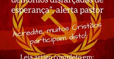"""""""Princípios comunistas são doutrinas de demônios disfarçadas de esperança."""""""