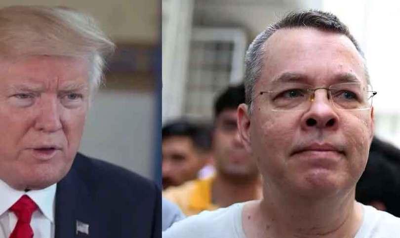 Trump alerta Turquia: Libertem o pastor Brunson ou sofram consequências econômicas