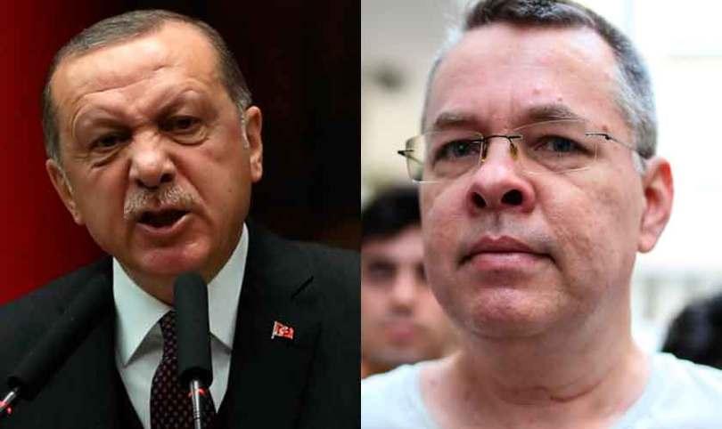 Presidente da Turquia rejeita alerta de Trump e diz que manterá pastor preso