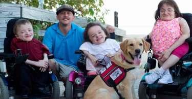 """Família superou síndrome rara através da fé: """"Há um propósito para a deficiência"""""""