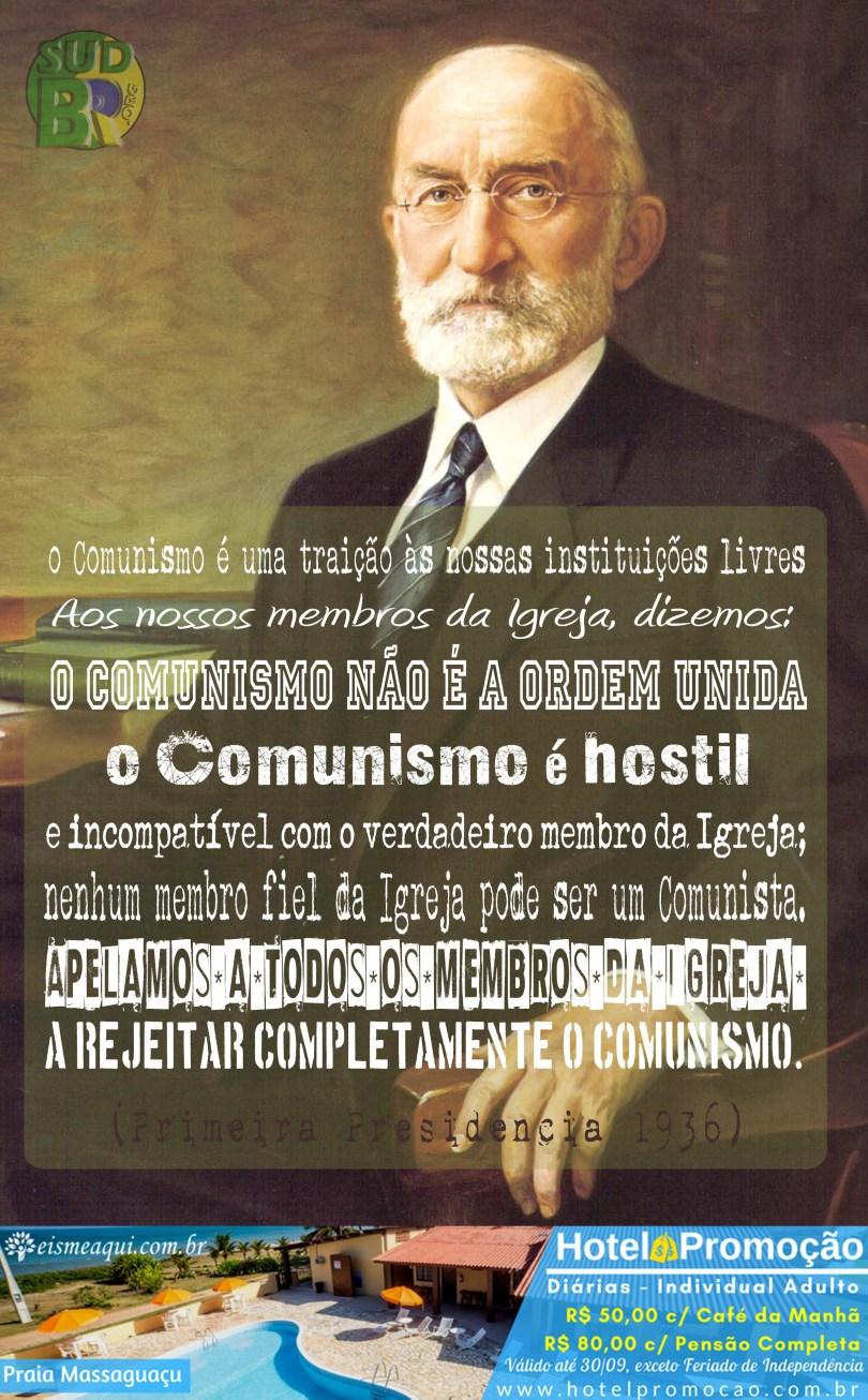 O comunismo é hostil.