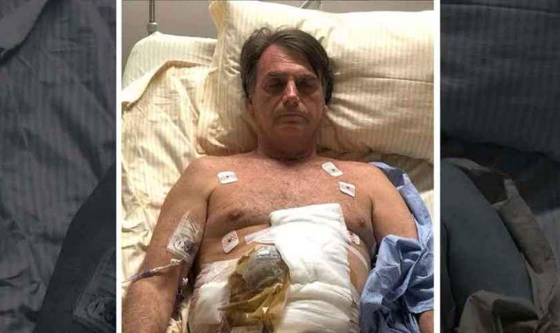 """""""Meu pai está pagando um preço alto pelo Brasil"""", diz filho de Bolsonaro após nova cirurgia"""