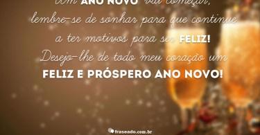 Um Ano Novo vai começar...