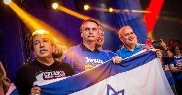 Bolsonaro quer aproximação com Israel e romper relações com ditaduras