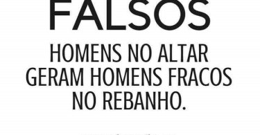Falsos Homens no Altar