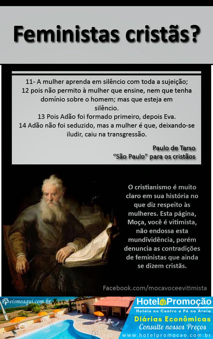 Feministas Cristãs?