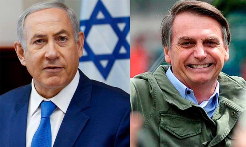 Premiê de Israel quer discutir mudança da embaixada brasileira na posse de Bolsonaro