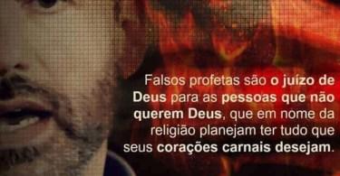 Falsos profetas são o juízo de Deus
