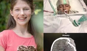 Menina desperta do coma curada de lesão no cérebro, após intercessão da família