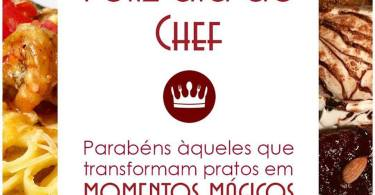Feliz Dia do Chef!