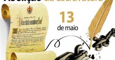 13 de maio - Abolição da escravatura