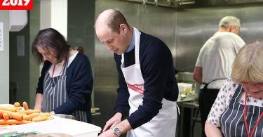 Príncipe William é reconhecido por trabalho social com instituição cristã