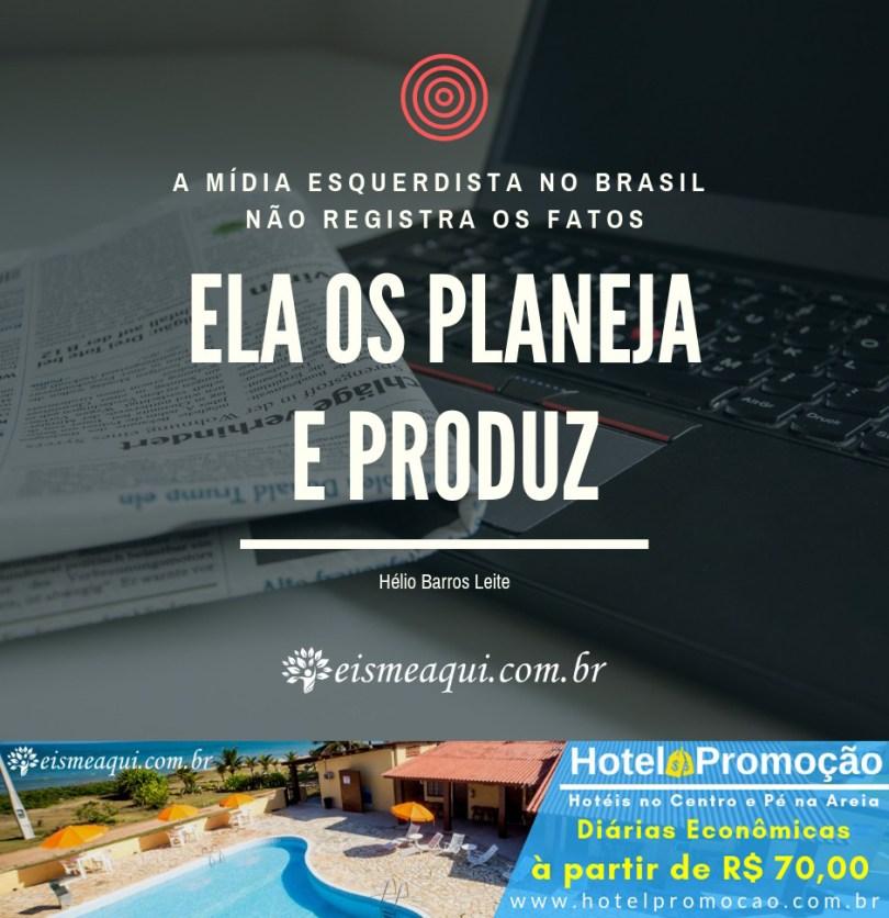 A mídia esquerdista brasileira não registra os fatos...