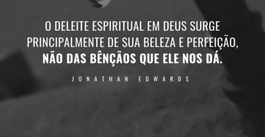 O deleite espiritual em Deus