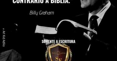"""""""Deus nunca nos leva fazer algo contrário à Bíblia."""""""