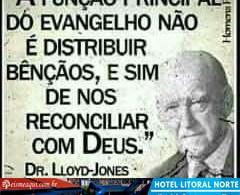 A função principal do Evangelho