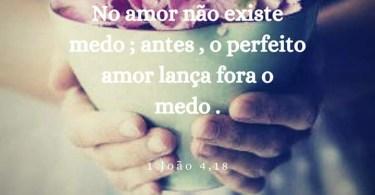 No Amor Não Existe Medo!