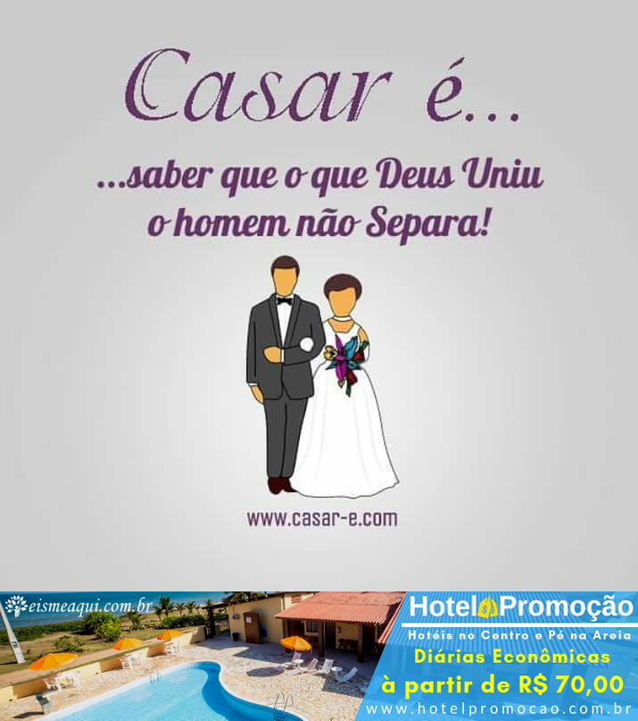 Casar é...
