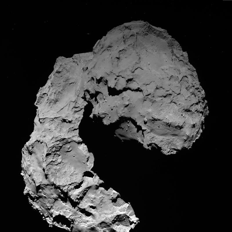 67P kometa Rosetta EFE