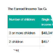 How Much Are The Eitc And Ctc Worth In 2018 Get It Back Tax Credits For People Who Work