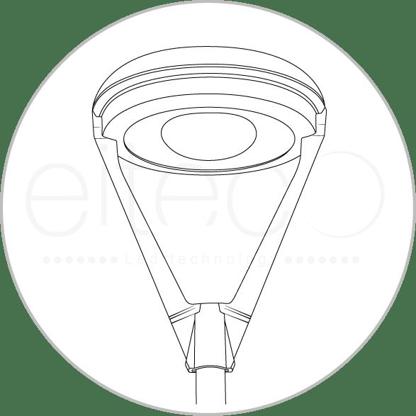 Luminaria Vial