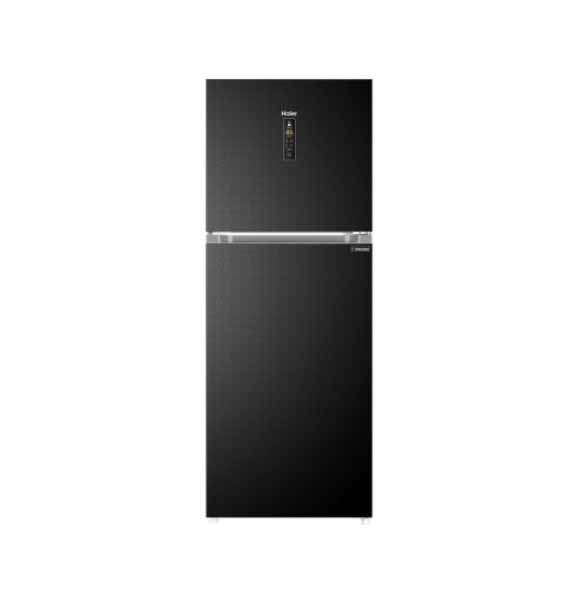 Haier E-Star Series Top-Freezer Direct Cooling Refrigerator With 1 Hour  Icing Technology - Product No: HRF - 438TDB/TDC