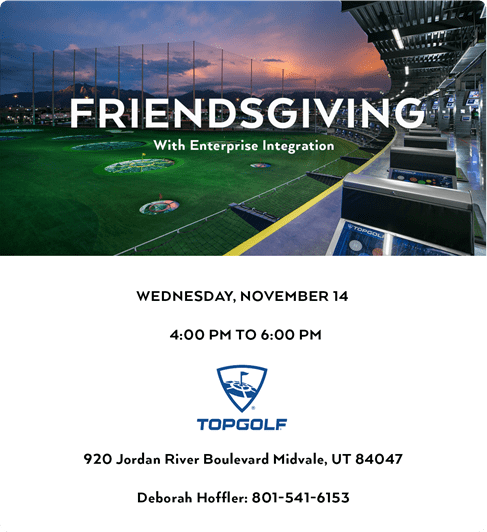 Friendsgiving 2018 Event in Top Golf