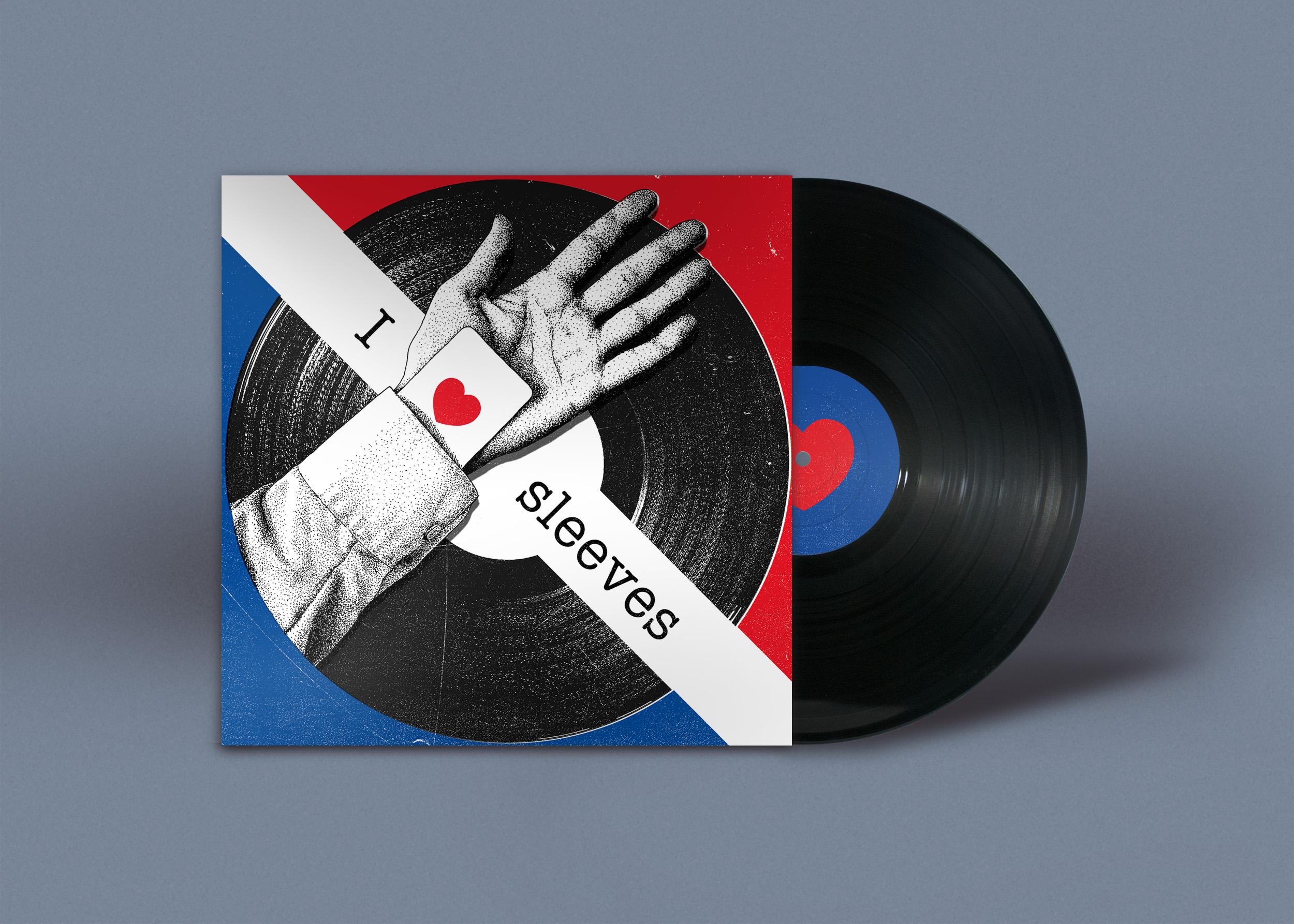 Vinyl Inspired Illustration Featured on Redbubble