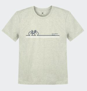Camiseta Mescla Estampa Bike