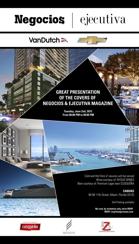 invitacion negocios magazine