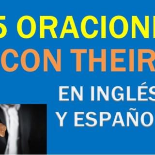 Oraciones Con Their En Inglés