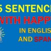 25 Sentences With Happy | Examples of Happy in English