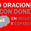 30 Oraciones Con Done En Inglés ✔ Frases Con Done Fáciles⚡