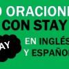 30 Oraciones Con Stay En Inglés Y Español Geniales