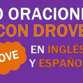 Oraciones Con Drove En Inglés